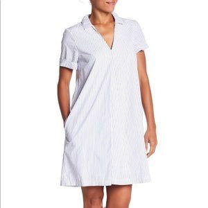 NWT Madewell Striped Tunic Shirt Dress